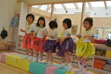 かわいいフラダンス~♪